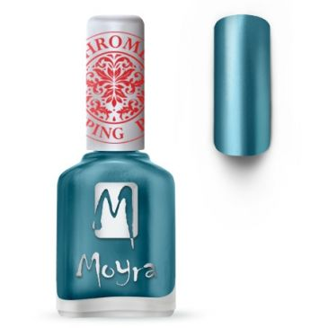Moyra Stamping Nail Polish 26 Chrome Blue