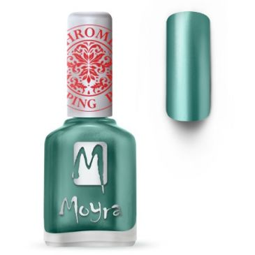 Moyra Stamping Nail Polish 27 Chrome Green