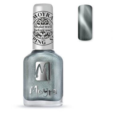 Moyra Stamping Nail Polish 30 Cat Eye Silver