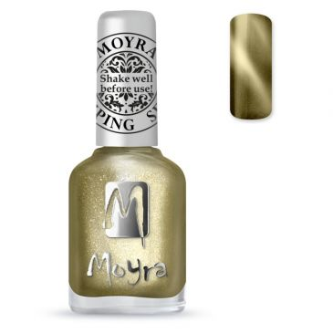 Moyra Stamping Nail Polish 31 Cat Eye Gold
