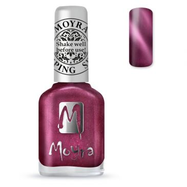 Moyra Stamping Nail Polish 32 Cat Eye Red