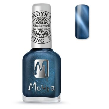 Moyra Stamping Nail Polish 33 Cat Eye Blue