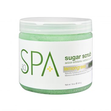 Sugar Scrub Lemongrass+Green Tea 454 gr.
