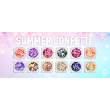 Magnetic Confetti Summer Collection