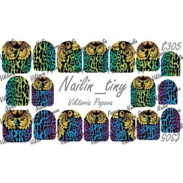 Nailin Wrap design T305